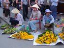 Banana & Flower Sellers, Hoi An Market