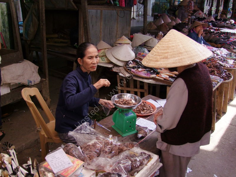 Herbal Medicine Seller, Hoi An Market