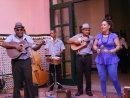 Cuban Musicians at Hotel Saratoga, Prado, Havana