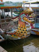 Dragon Boat, Perfume River, Hue
