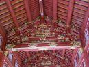 Roof Interior of Restored Building, Kinh Thanh (Citadel), Hue