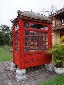 Red Box Housing a Bronze Beast, Kinh Thanh (Citadel), Hue