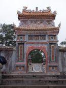 Restored Gate to Tu Duc Tomb, Hue