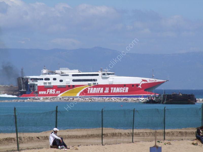 Hydrofoil Tangier to Tarifa
