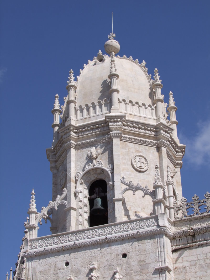Bell Tower Detail of Church of Santa Maria