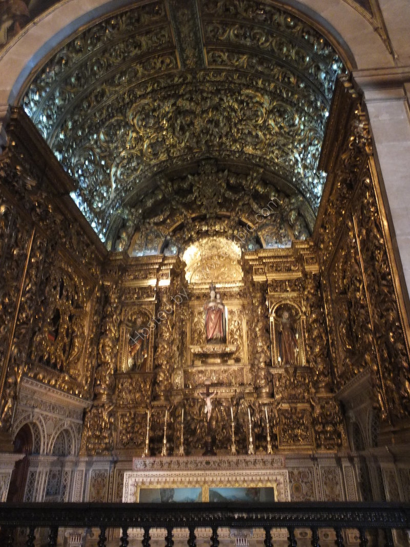 One of Many Chapels in Church of Sao Roque
