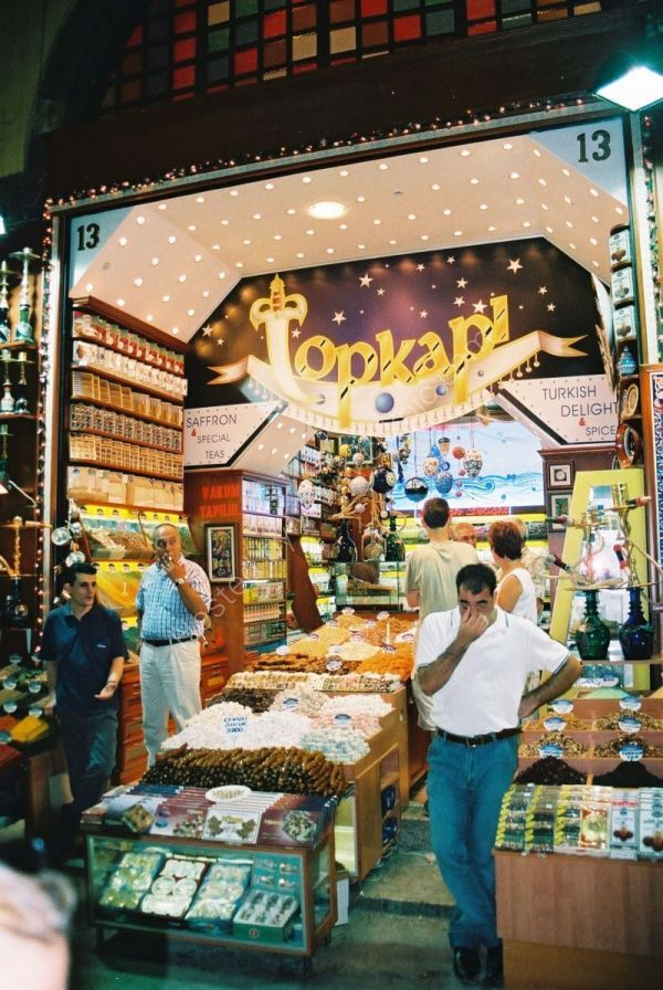 Spice Shop, Covered Bazaar, Istanbul, Turkey