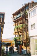 Typical Wooden Turkish Building on the Bosphorus, Turkey