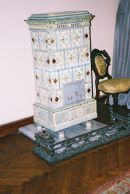 Fire Place, Dolmabahce Palace, Istanbul, Turkey