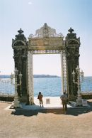Archway to the Bosphorous, Dolmabahce Palace, Istanbul, Turkey