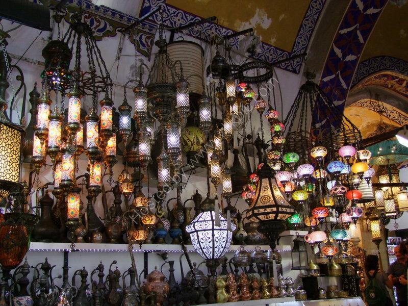 Lamp Shop, Grand Bazaar, Istanbul
