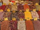 Spices & Spiced Tea Display, Grand Bazaar, Istanbul