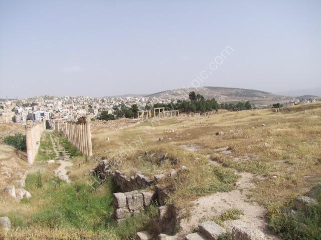 Roman Collonade to East Gate, Jerash
