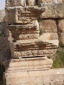 Detail of North Collonaded Street, Jerash