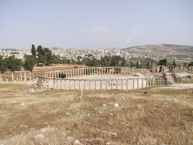 Roman Oval Plaza, Jerash