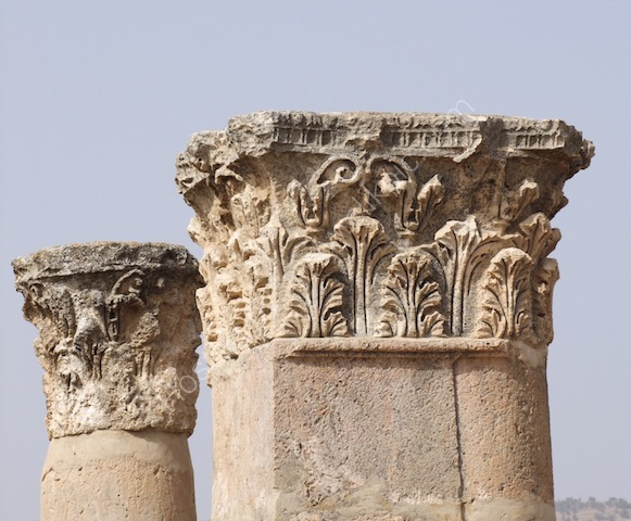 Detail of Temple of Artemis, Jerash