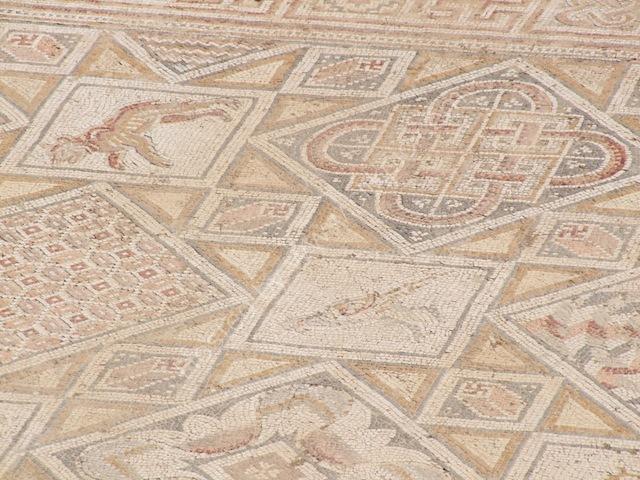 Detail of Mosaic, Jerash