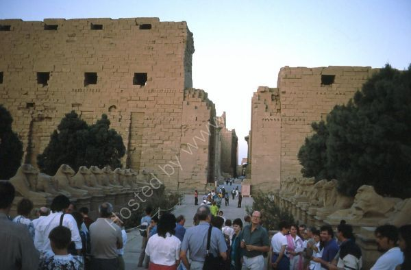 Avenue of Ram Headed Sphinxes, Karnak Temple, Luxor