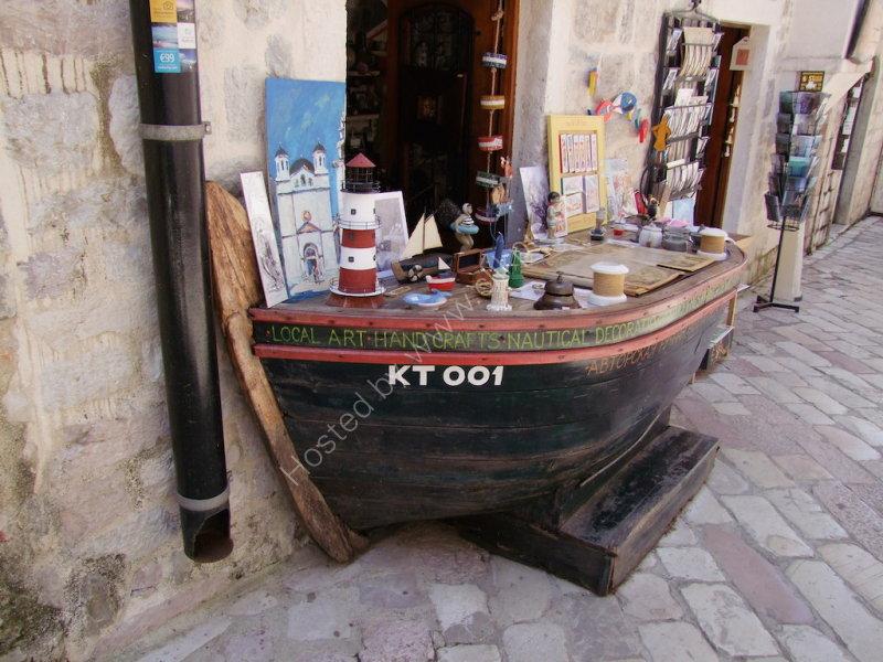 Shop Front, Kotor