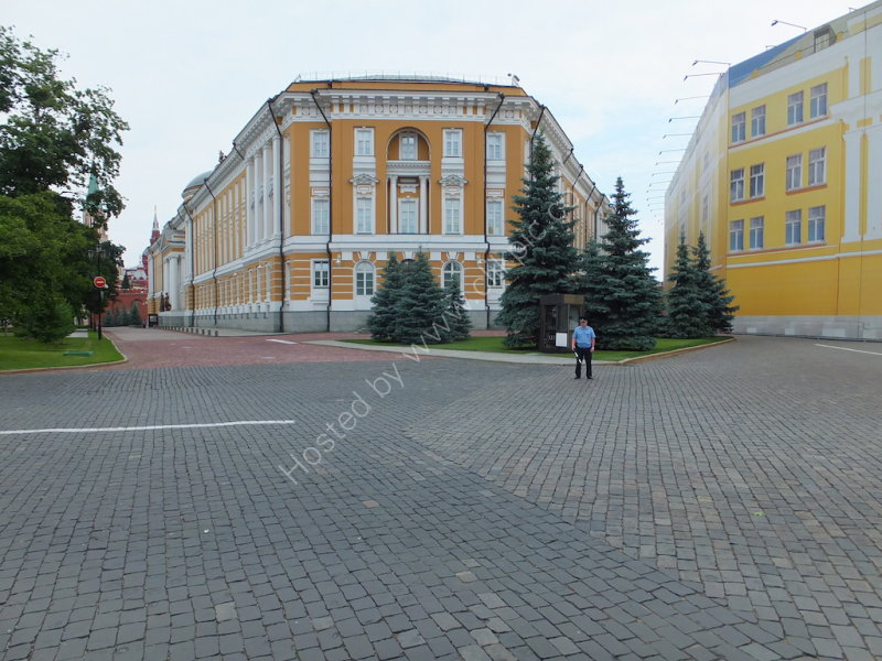 Offices of President Putin and Prime Minister Meredev within the Kremlin