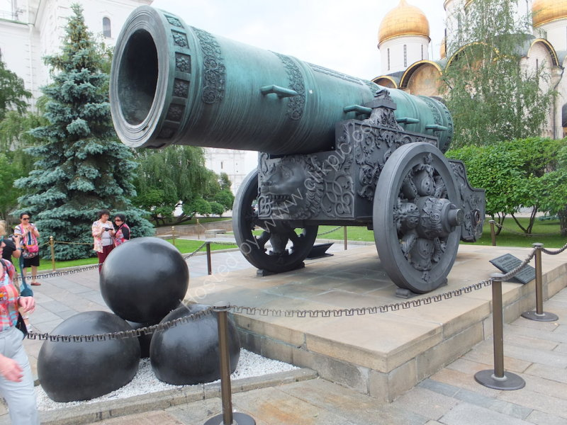 Tsar's Cannon, Kremlin