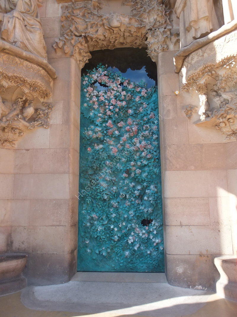 Ornate Doorway, La Sagrada Familia
