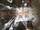 Interior Roof Detail, La Sagrada Familia
