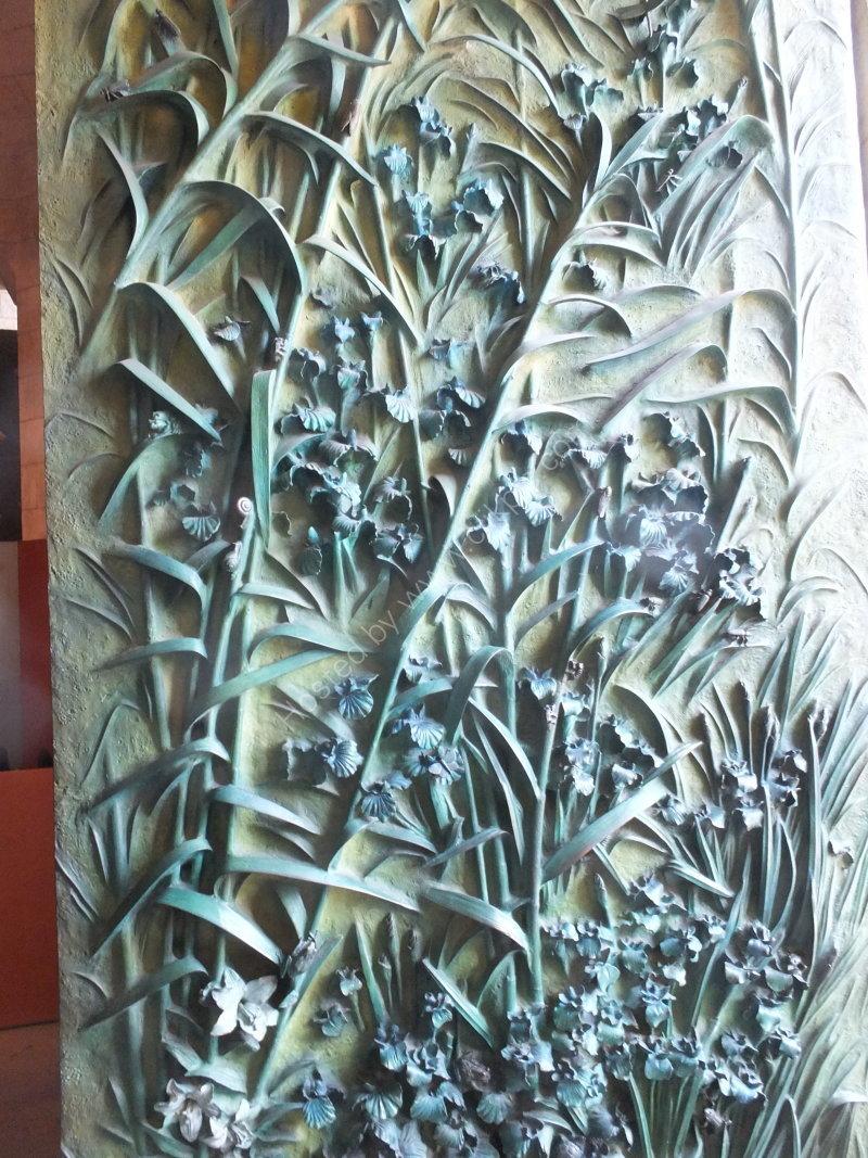 Ornate Bronze Door, La Sagrada Familia