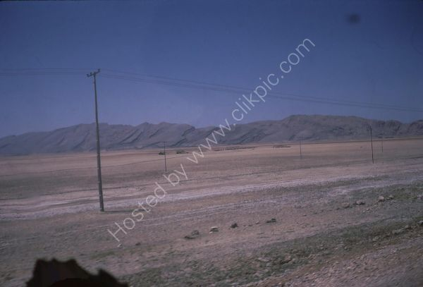Landscape between Persepolis and Shiraz