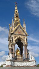 Prince Albert Memorial, London, UK