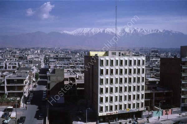 Looking North over Tehran
