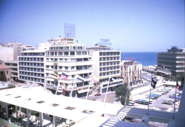 Looking from Hotel Phonecia Intercontinental, Beirut