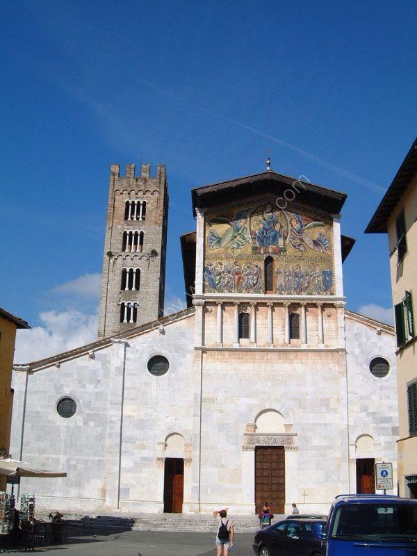 Church, Lucca, Tuscany