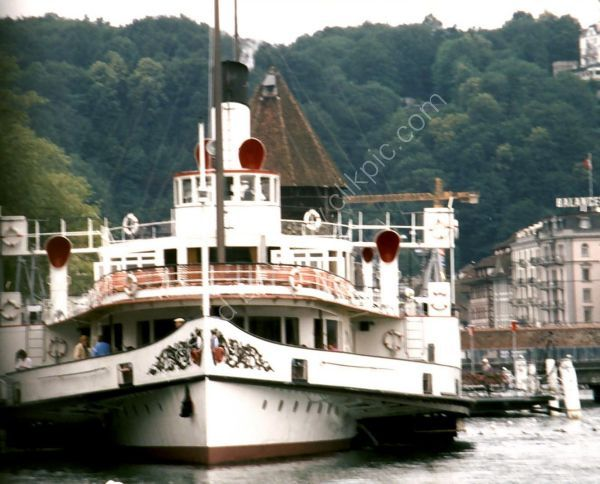 Paddle Steamer, Lake Lucerne