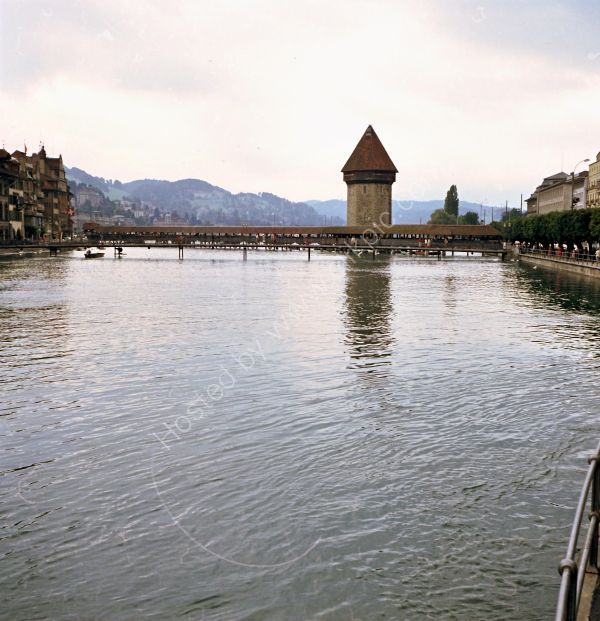Covered Bridge, Lucerne