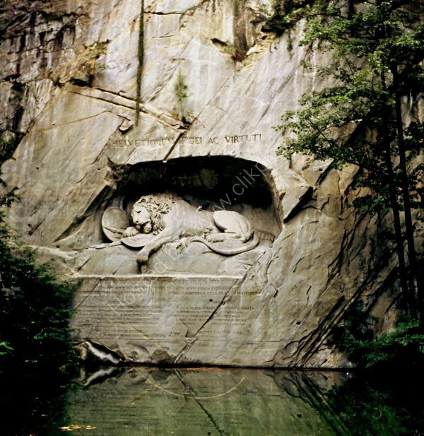 Lion of Lucerne, Lucerne