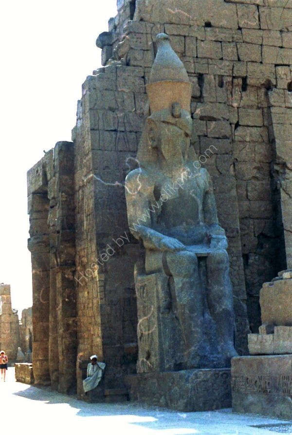Statue at Luxor Temple, Luxor