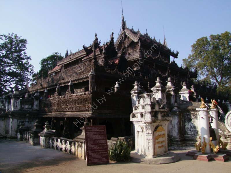 Royal Palace of Shwe Nan Daw Kyaung Monastery