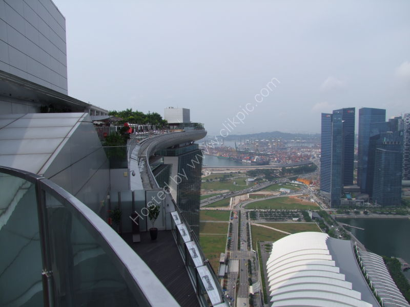 Roof of Marina Bay Sands Hotel, Marina Bay