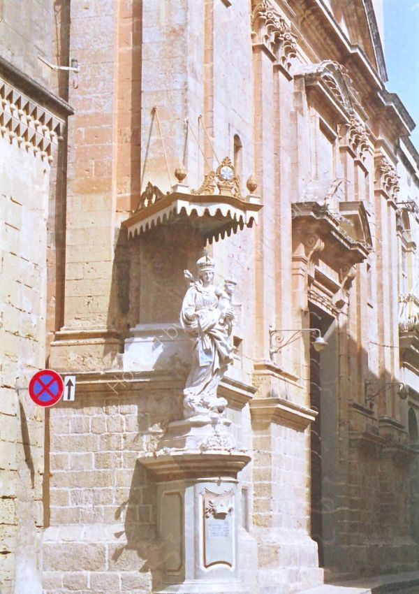 Detail of Building, Mdina