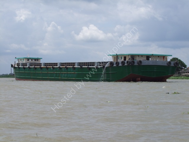 Tanker on the Mekong Delta
