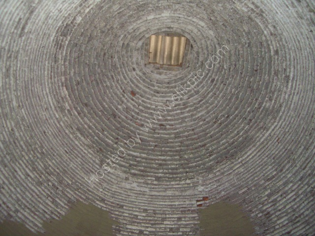 Roof Inside Brick Kiln, Mekong Delta
