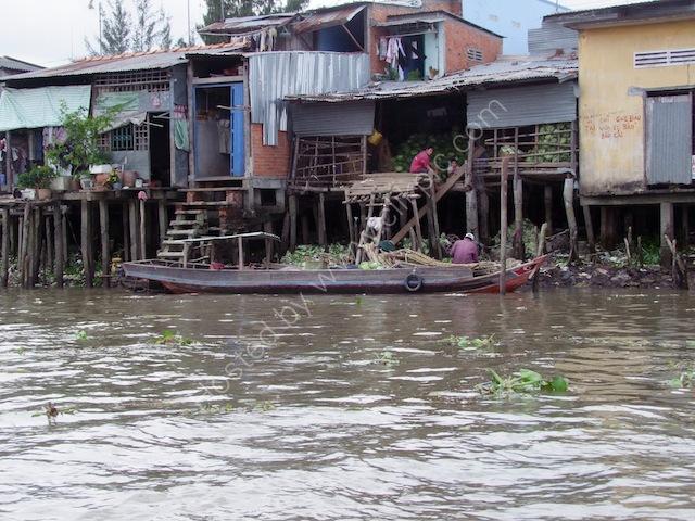 Riverside Houses, Mekong Delta