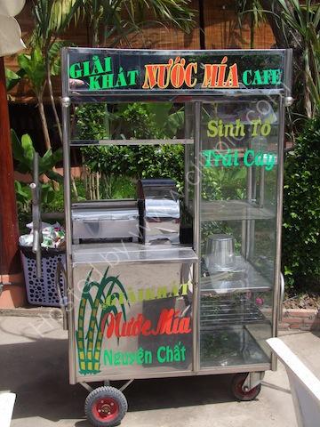 Suger Cane Juicer Machine, Mekong Delta