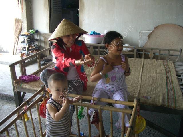 Vietnamese Family, Mekong Delta