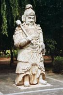 Stone Warrior, Sacred Way, Ming Tombs, Beijing