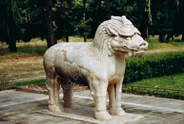 Stone Creature, Sacred Way, Ming Tombs, Beijing