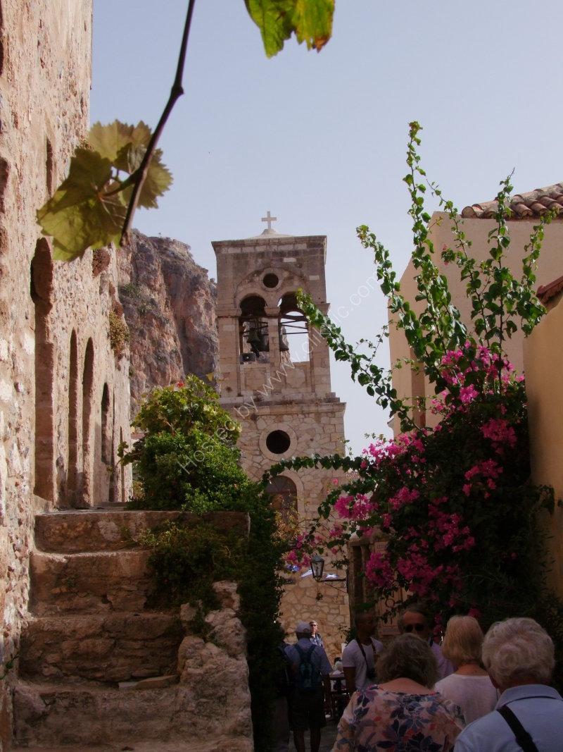 Church in Medieval Town of Monemvasia