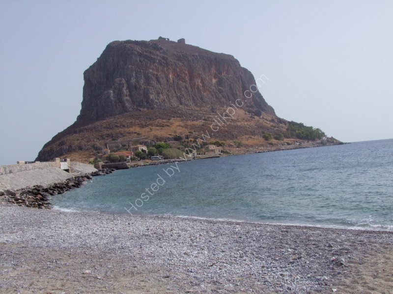 Old Medieval Town of Monemvasia on this Rock