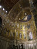 Gold Byzantine Mosaic Interior, Monreale Cathedral